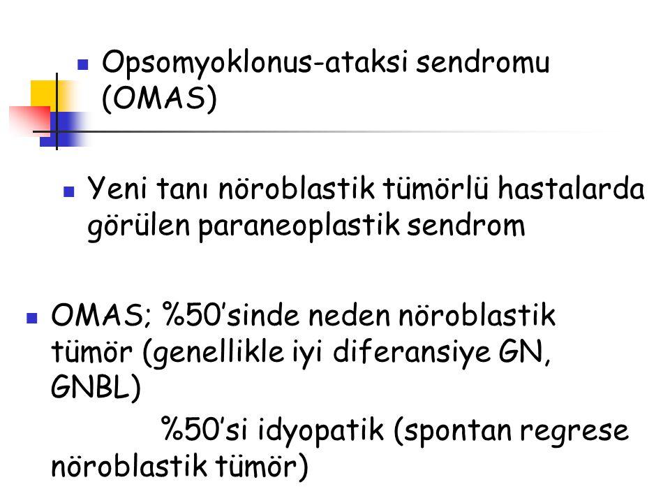 Opsomyoklonus-ataksi sendromu (OMAS)