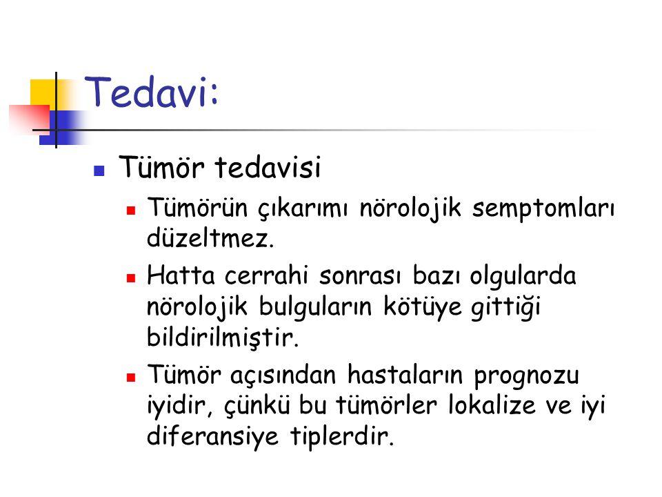 Tedavi: Tümör tedavisi