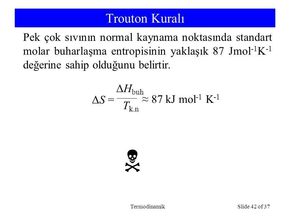 Trouton Kuralı