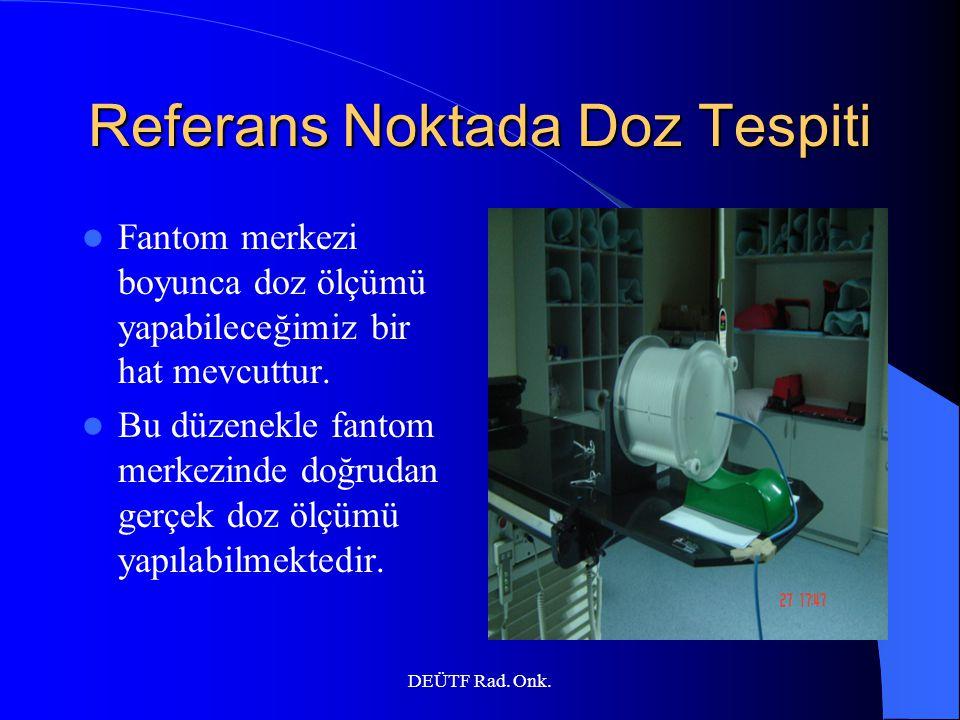Referans Noktada Doz Tespiti
