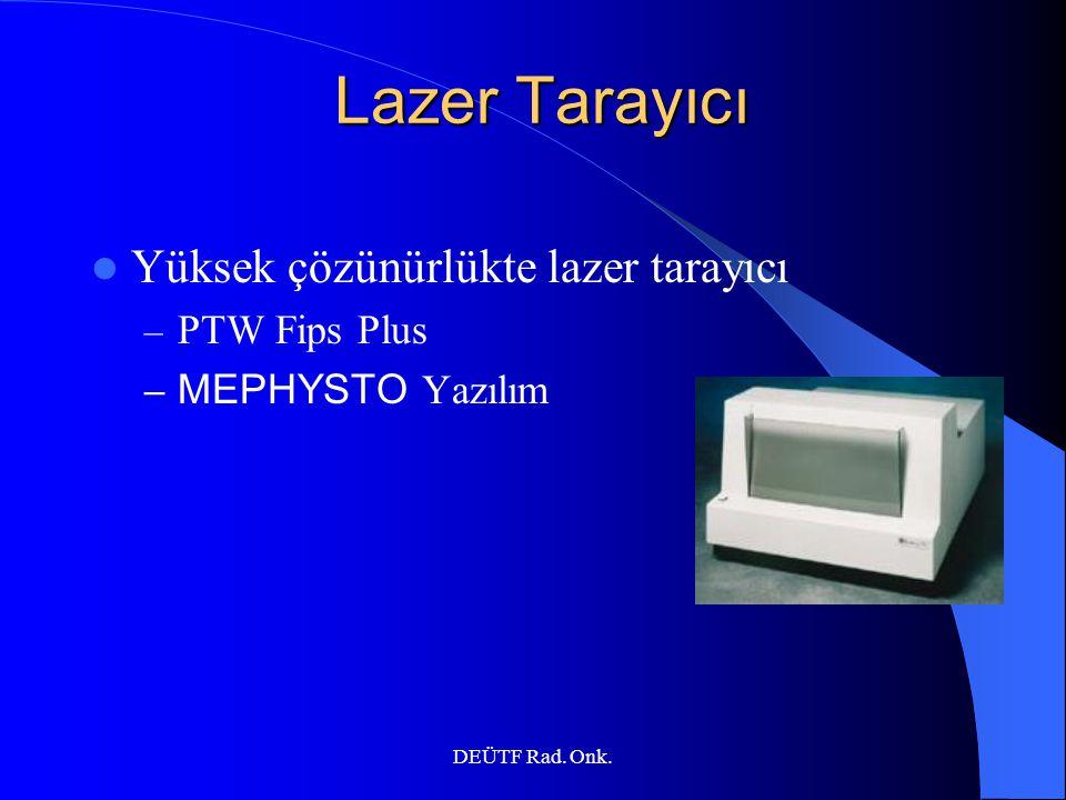 Lazer Tarayıcı Yüksek çözünürlükte lazer tarayıcı PTW Fips Plus