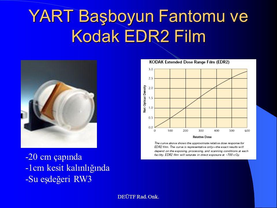 YART Başboyun Fantomu ve Kodak EDR2 Film