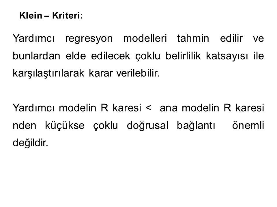 Klein – Kriteri: