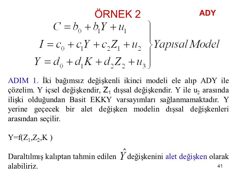ÖRNEK 2 ADY.