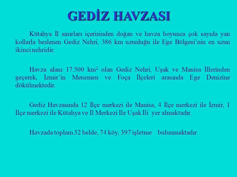 GEDİZ HAVZASI