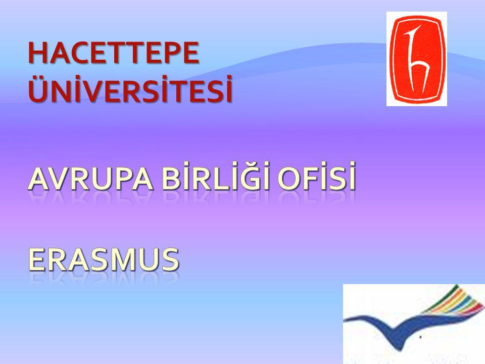 AVRUPA BİRLİĞİ OFİSİ ERASMUS