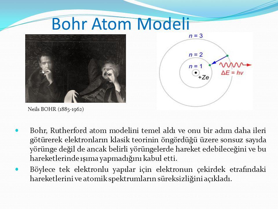PS: 1900 yıllarda yaşamış birçok bilimadamı (Einstein Bohr Rutherforld De Brogli vs.. ) birbirlerinin yaptığı çalışmalardan etkilenmiş ve fiziğin gelişmesine katkıda bulunmuslardır