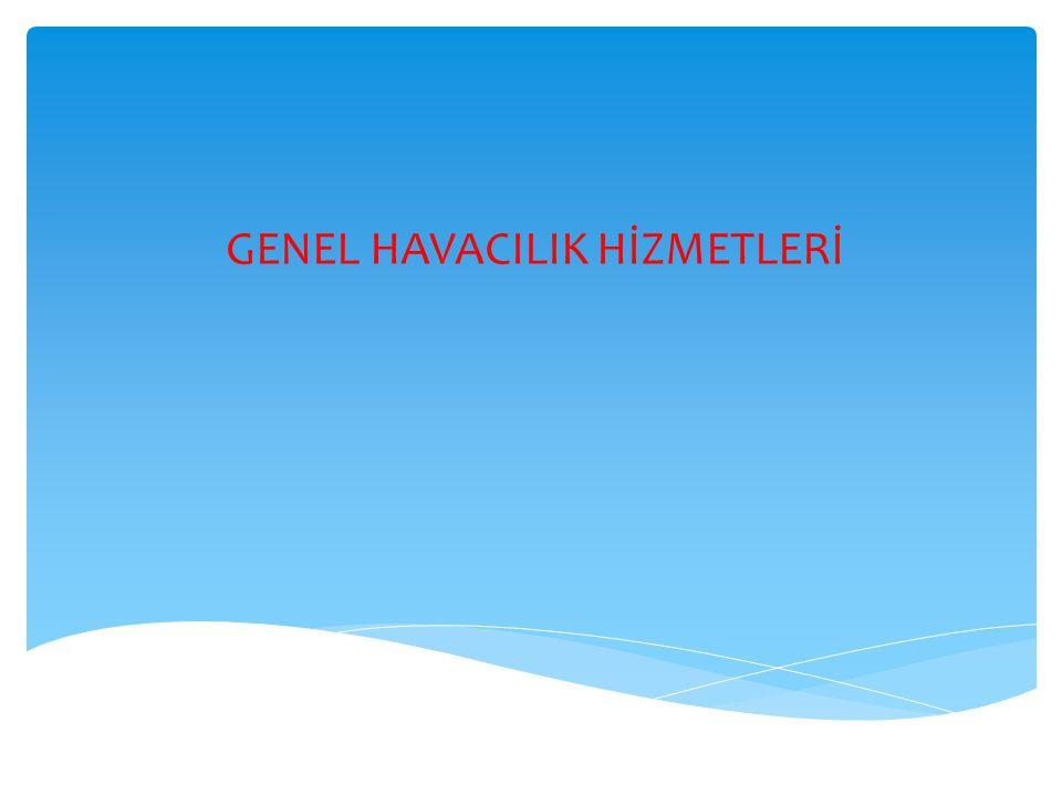 GENEL HAVACILIK HİZMETLERİ