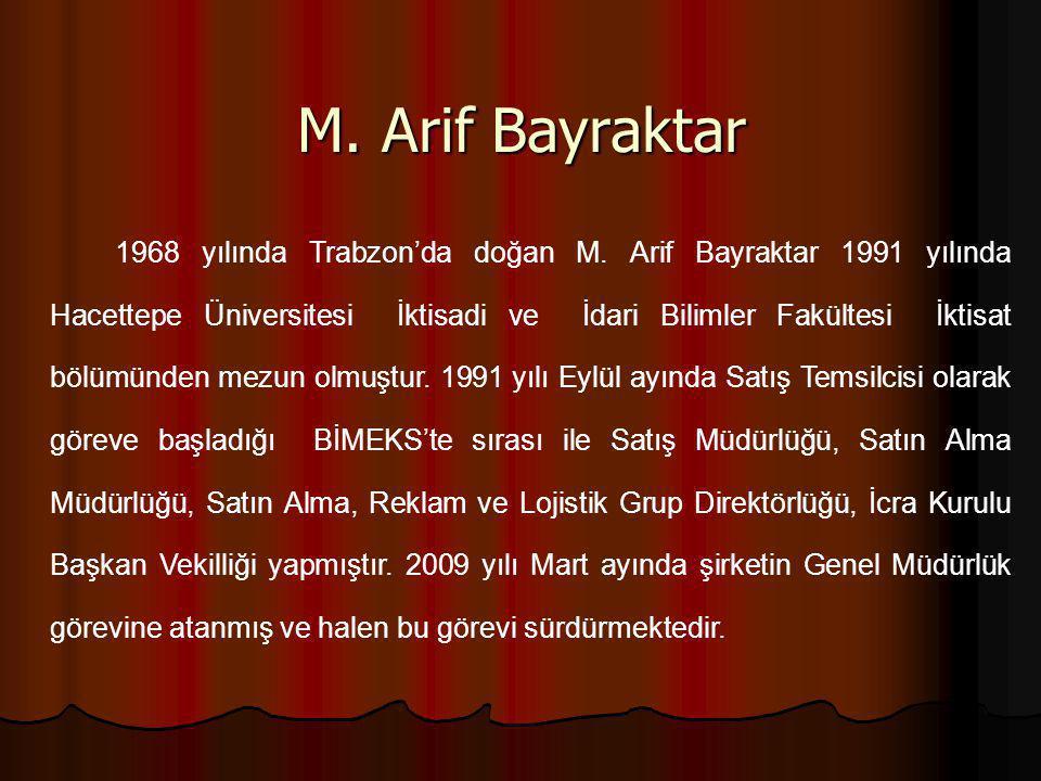 M. Arif Bayraktar