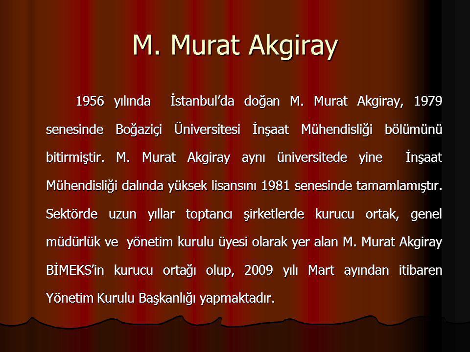 M. Murat Akgiray