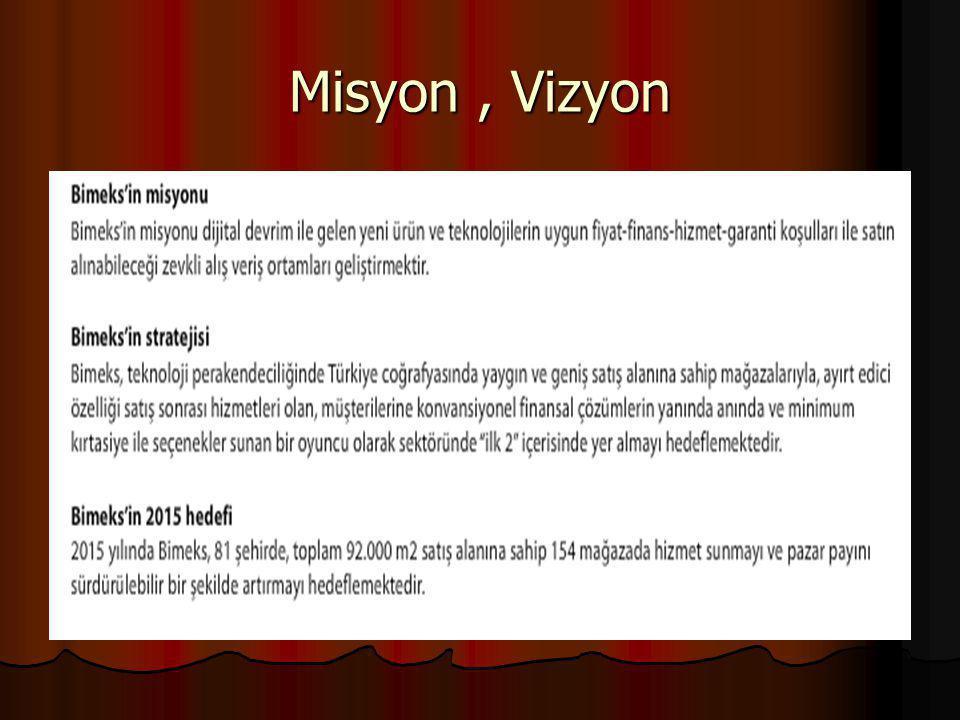 Misyon , Vizyon