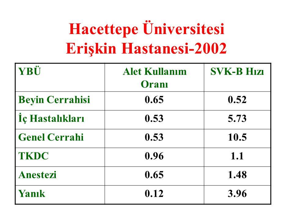 Hacettepe Üniversitesi Erişkin Hastanesi-2002