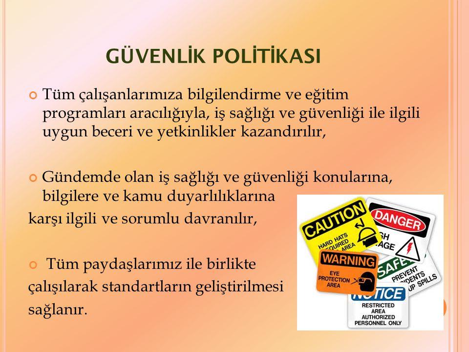GÜVENLİK POLİTİKASI