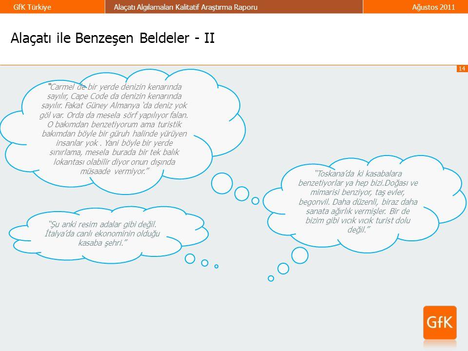 Alaçatı ile Benzeşen Beldeler - II