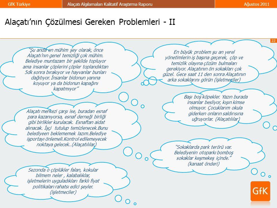 Alaçatı'nın Çözülmesi Gereken Problemleri - II