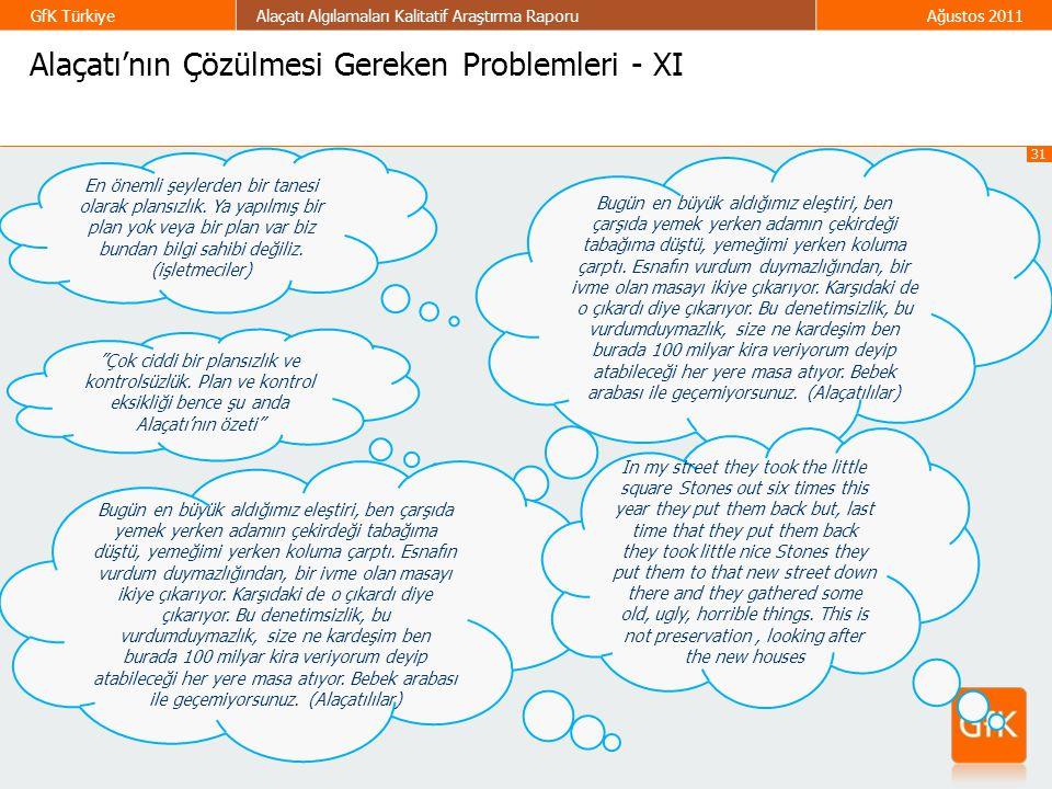 Alaçatı'nın Çözülmesi Gereken Problemleri - XI