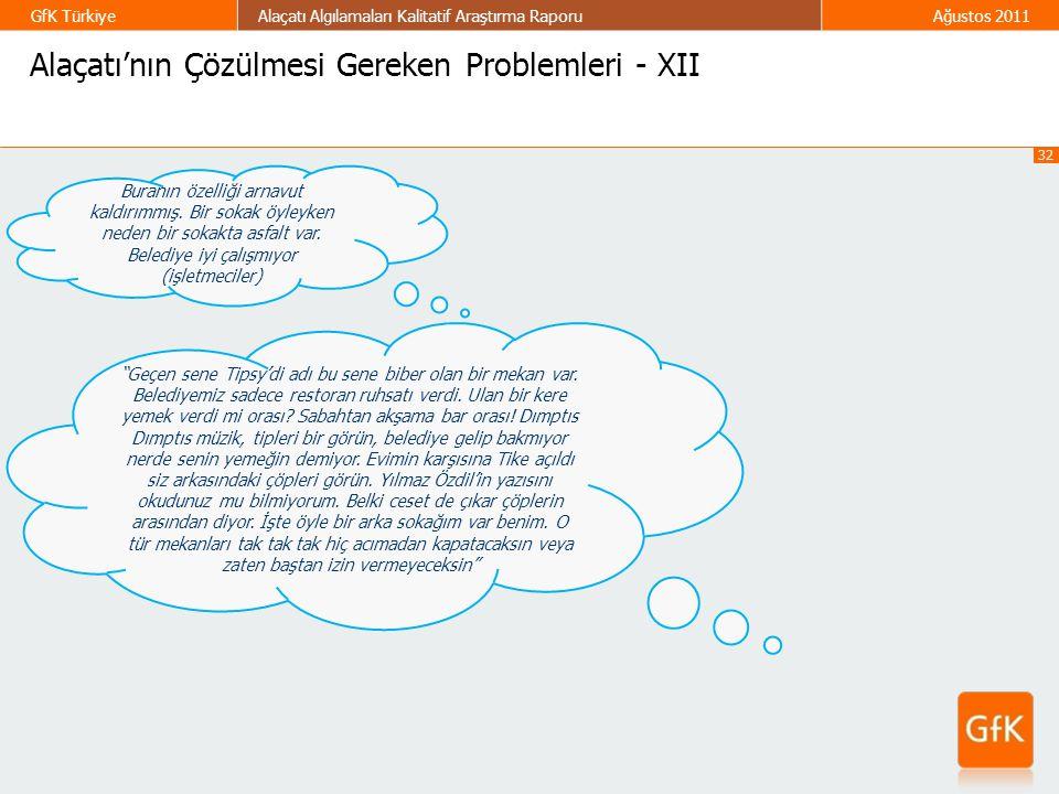 Alaçatı'nın Çözülmesi Gereken Problemleri - XII