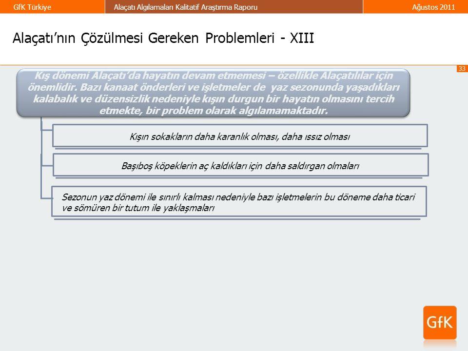 Alaçatı'nın Çözülmesi Gereken Problemleri - XIII