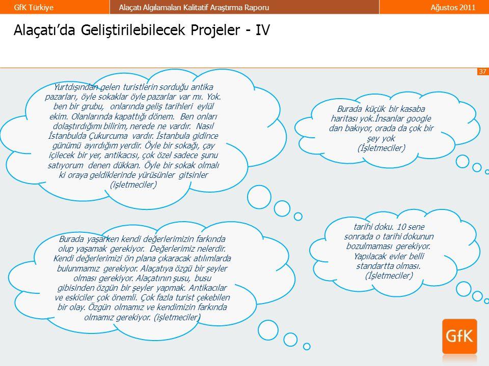 Alaçatı'da Geliştirilebilecek Projeler - IV