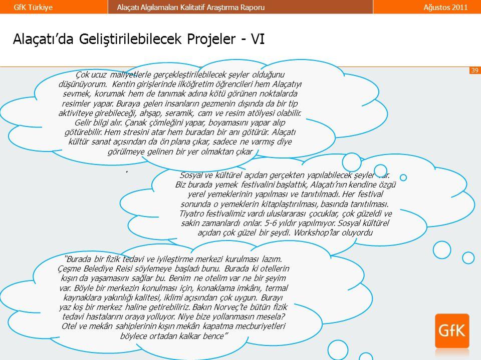 Alaçatı'da Geliştirilebilecek Projeler - VI