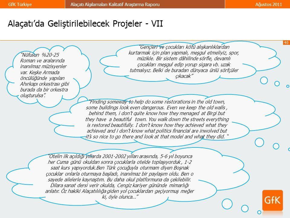 Alaçatı'da Geliştirilebilecek Projeler - VII