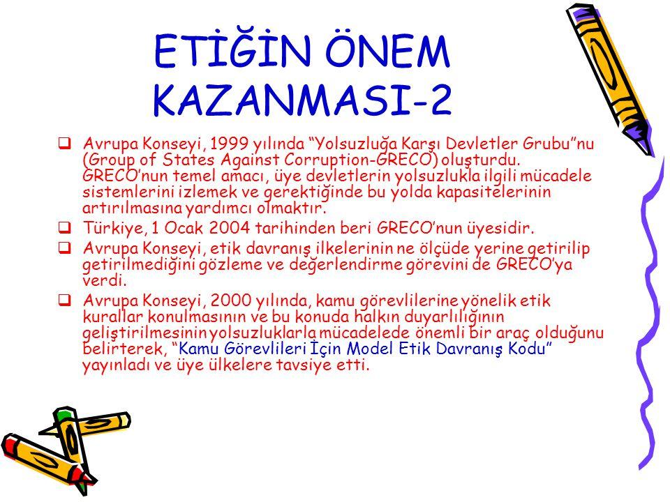 ETİĞİN ÖNEM KAZANMASI-2