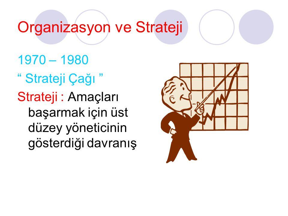 Organizasyon ve Strateji
