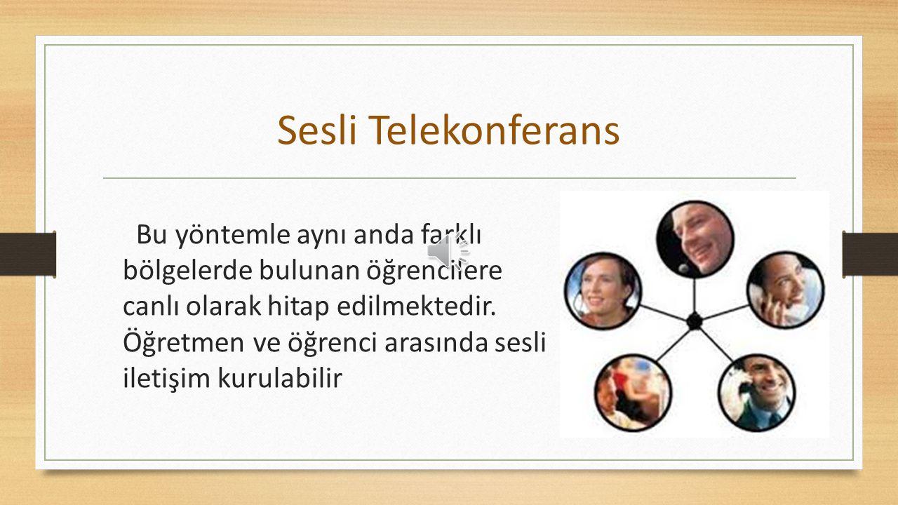 Sesli Telekonferans