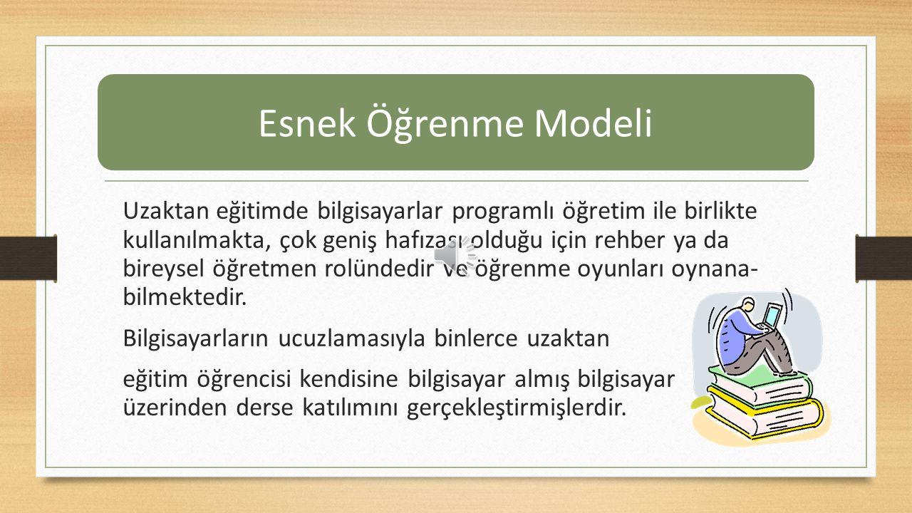 Esnek Öğrenme Modeli