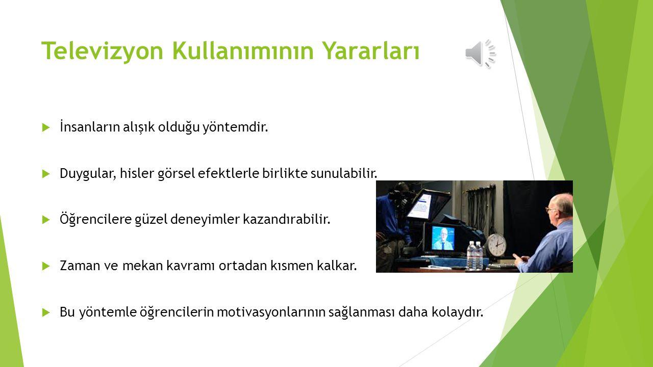 Televizyon Kullanımının Yararları