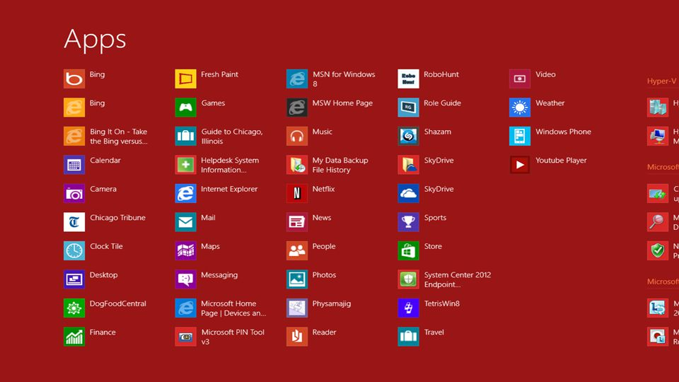Windows 8 Sürümleri