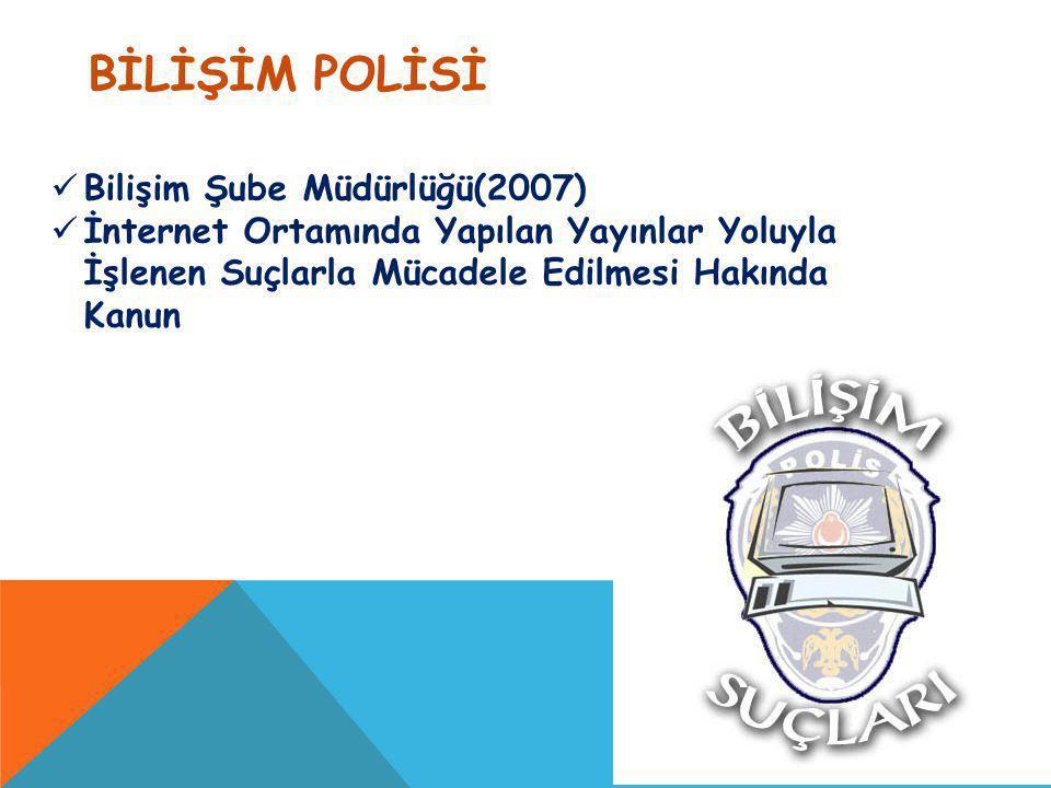BİLİŞİM POLİSİ Bilişim Şube Müdürlüğü(2007)