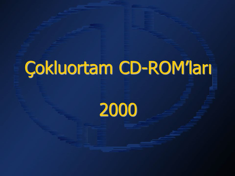 Çokluortam CD-ROM'ları 2000