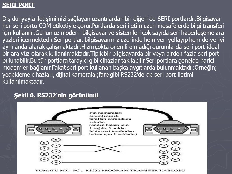 SERİ PORT