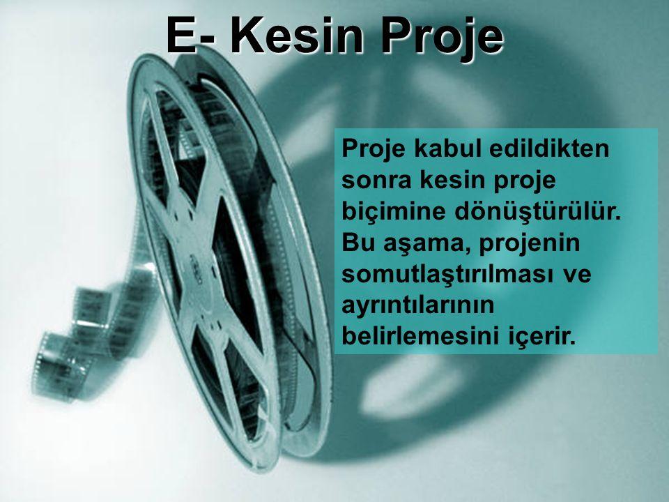 E- Kesin Proje