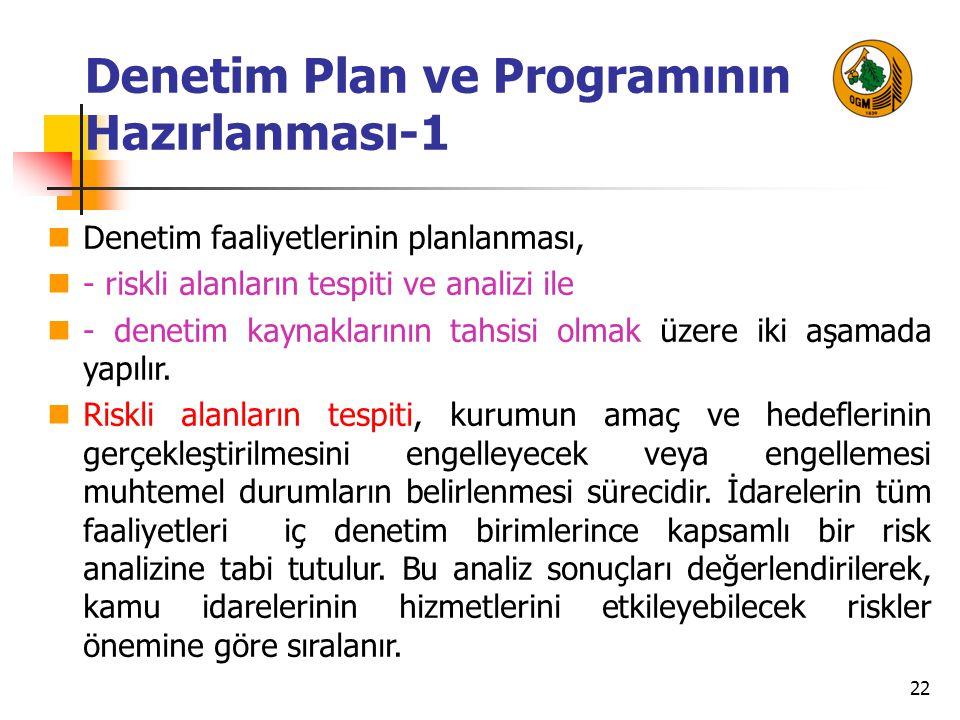 Denetim Plan ve Programının Hazırlanması-1