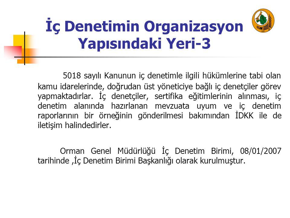 İç Denetimin Organizasyon Yapısındaki Yeri-3