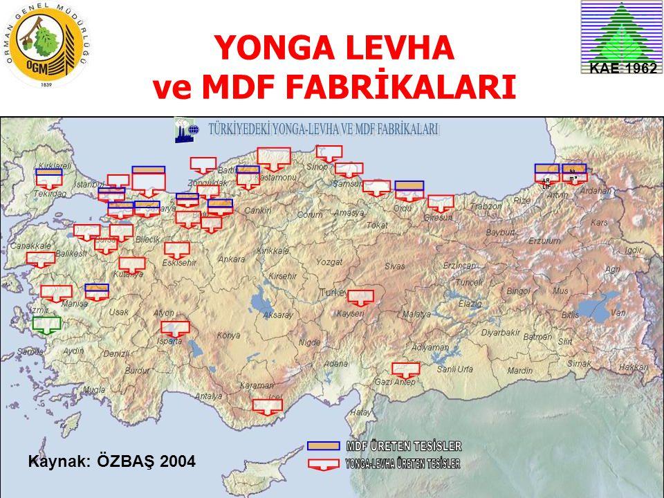 YONGA LEVHA ve MDF FABRİKALARI