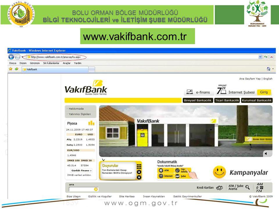 www.vakifbank.com.tr Kurumsal Kimlik