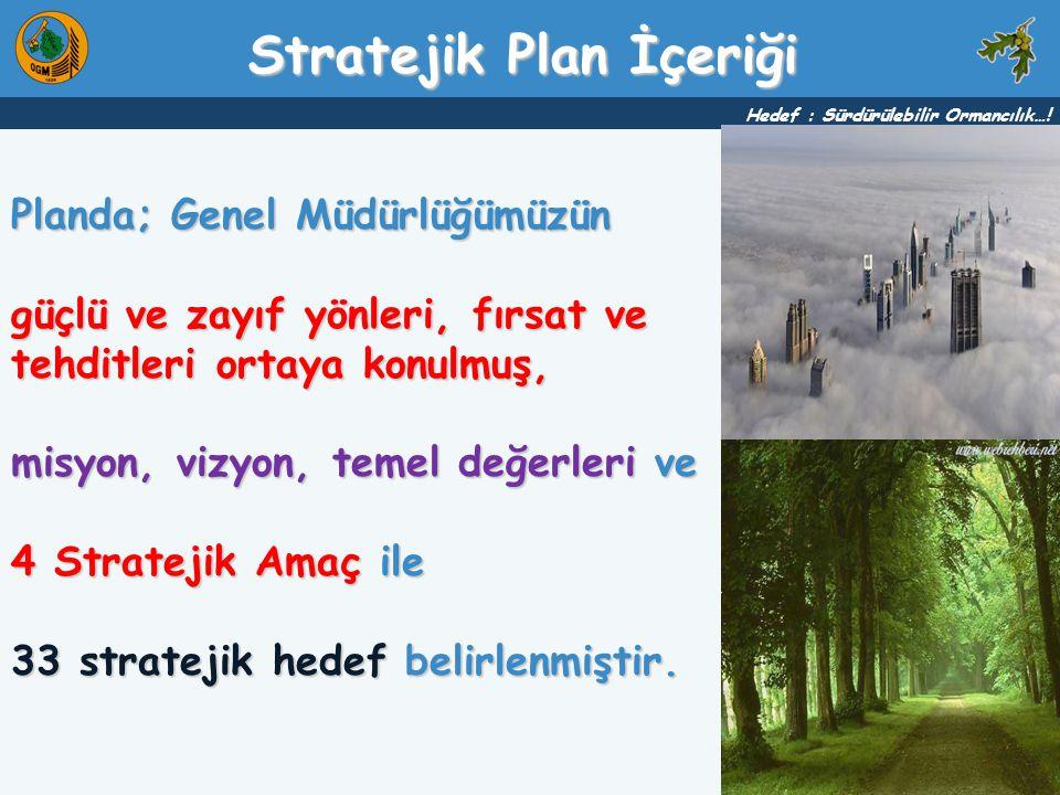 Stratejik Plan İçeriği