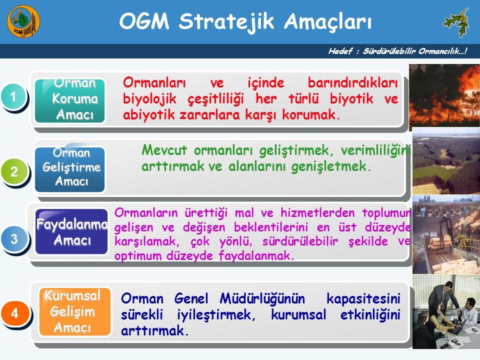OGM Stratejik Amaçları
