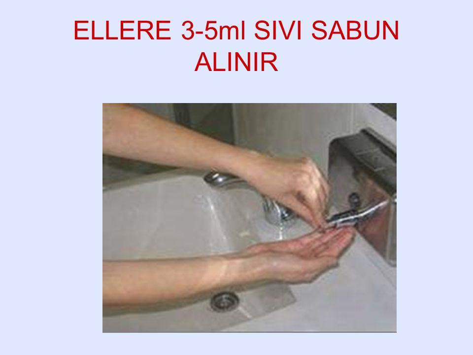 ELLERE 3-5ml SIVI SABUN ALINIR