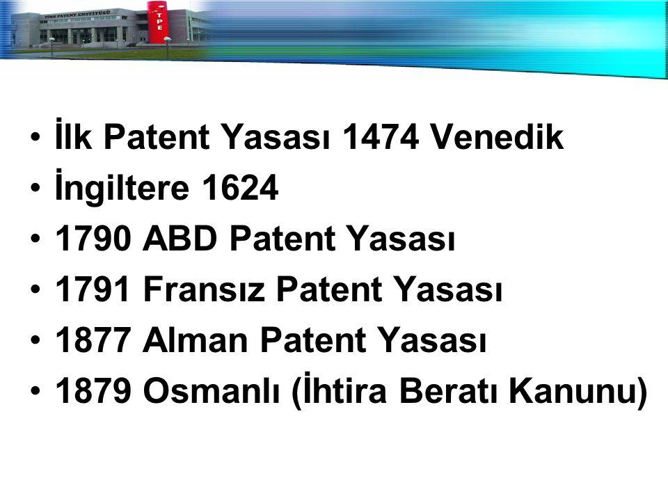İlk Patent Yasası 1474 Venedik