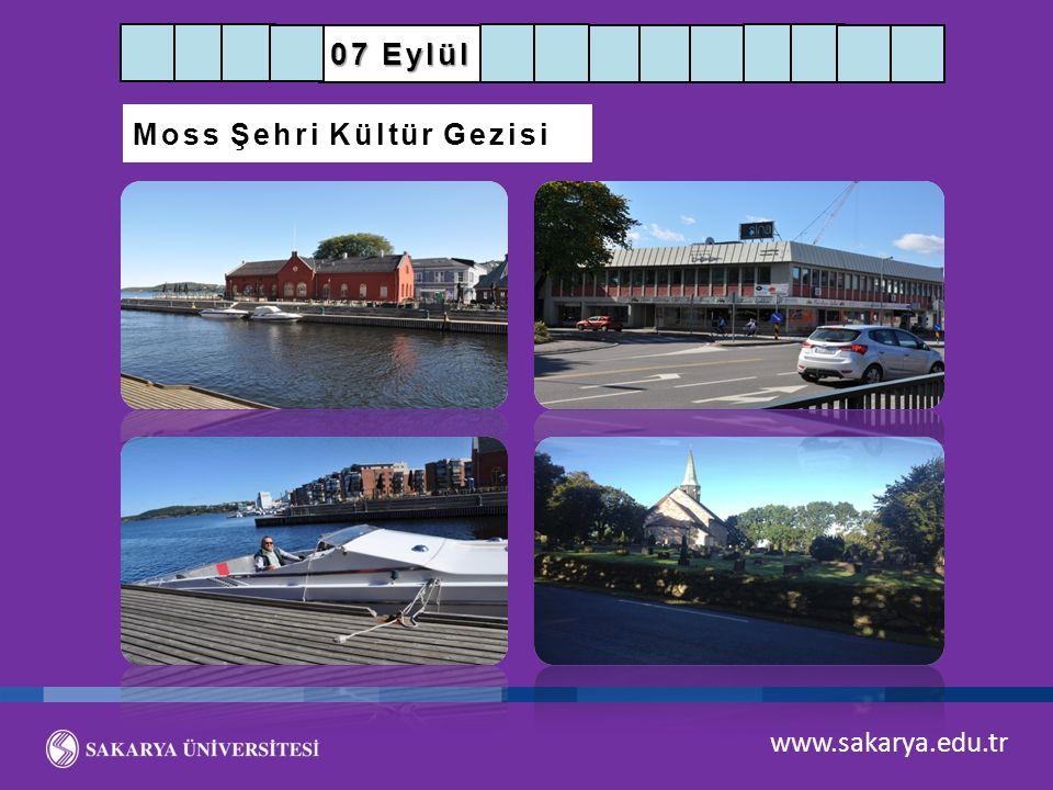 07 Eylül Moss Şehri Kültür Gezisi www.sakarya.edu.tr