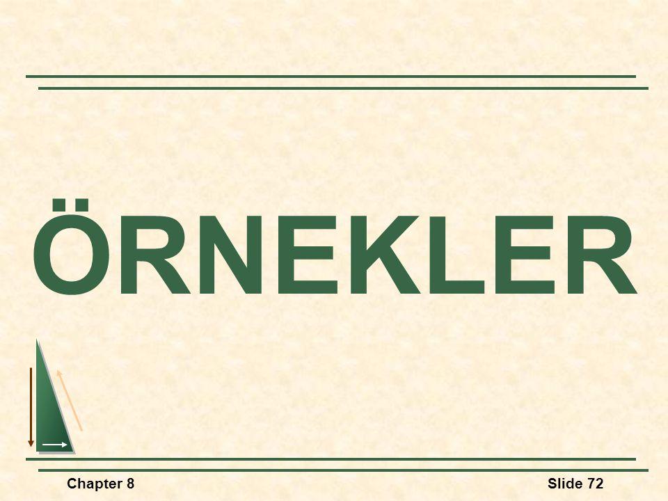 ÖRNEKLER Chapter 8