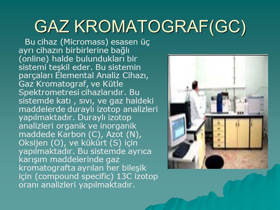GAZ KROMATOGRAF(GC)