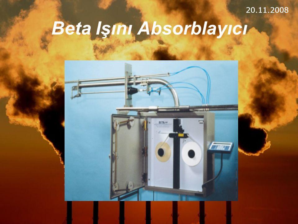 Beta Işını Absorblayıcı