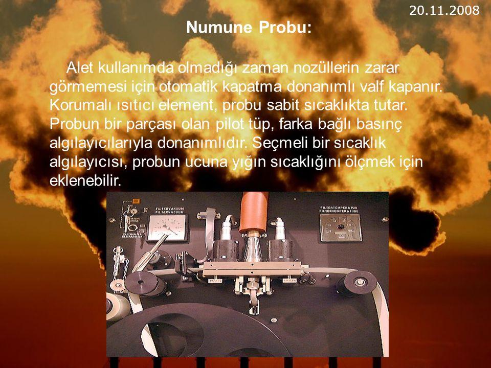 20.11.2008 Numune Probu: