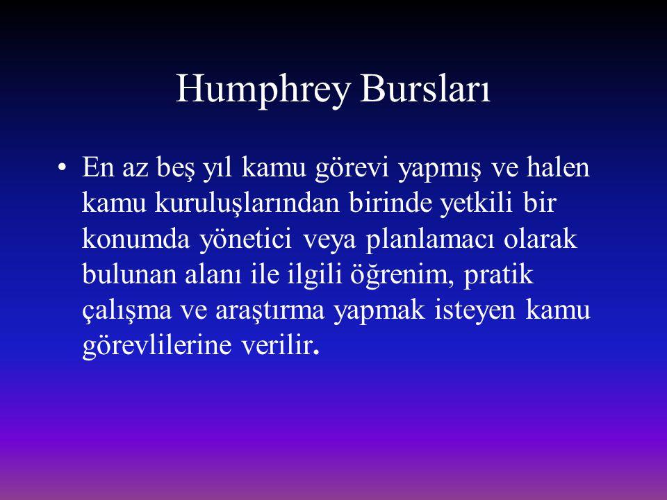 Humphrey Bursları