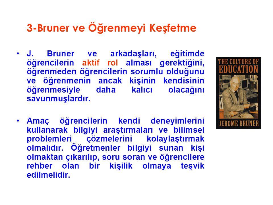 3-Bruner ve Öğrenmeyi Keşfetme